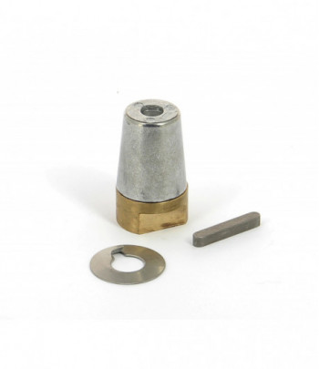 Prop nut with anode